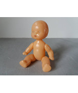 Vintage plastic baby doll toy Made in USSR - $12.00