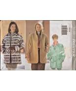Butterick Sewing Pattern 3640 Loose Fit Jackets Coat Short Fleece XS-M U... - £3.66 GBP