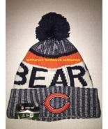 Chicago Bears NFL New Era On Field Headwear 17 Pom Stocking Hat Cap NWT - $39.99
