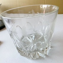 Princess House Heritage Lead Crystal Clear Etched Small Bowl - $25.23