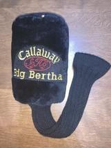 CALLAWAY Big Bertha S2H2 Golf Club Driver Head Cover Original #1  - $13.29