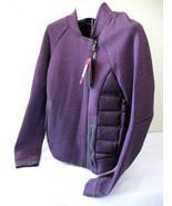 NWT NIKE Deep Purple Tech Aeroloft Moto Women's Down Quilted Jacket M $250 - $128.00