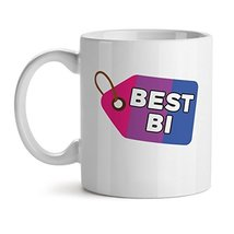 Best Bi - Mad Over Mugs - Inspirational Unique Popular Office Tea Coffee Mug Gif - $17.59