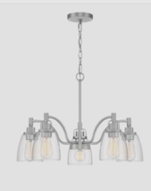 Quoizel Bradbury 5-Light Brushed Nickel Traditional Chandelier - $97.80