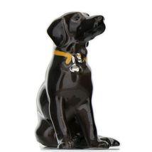 Hagen Renaker Dog Labrador Retriever Sitting Black Ceramic Figurine image 7