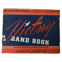 Vintage Victory Bank Book 3rd Trombone Bass Clef 1943 by Paul Yoder - $14.50