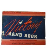 Vintage Victory Bank Book 3rd Trombone Bass Clef 1943 by Paul Yoder - $10.19