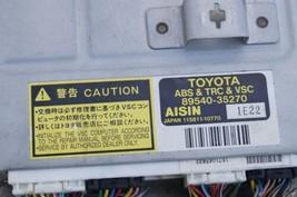Toyota 4Runner ABS TRC & VSC Control Module 89540-35270 image 2