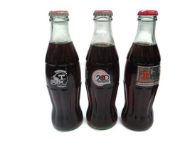 Coca-Cola UT Bottles 200th Anniversary 1997 SEC 1998 National Champions ... - $17.82