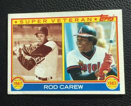 1983 Topps ROD CAREW (HOF) California Angels #201 Baseball Card - $5.93