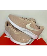 NEW SIZE 7.5-11 WOMEN Nike Tanjun Running Shoe Particle Beige White LIGH... - $33.99
