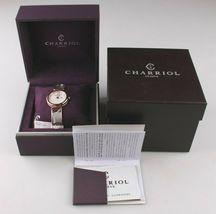 Charriol Women's Forever Diamond Dial Stainless Steel Quartz Watch FE32102005 image 3