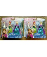 2 Walt Disney 2013 Frozen Sister Gift Sets Princess Elsa Anna Olaf toy f... - $22.77