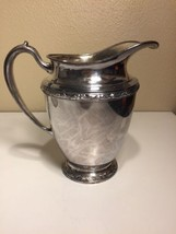 Vintage Oneida Silver Plate Pitcher Maybrook, Excellent Condition- Ships... - $70.11