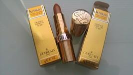 2 Guerlain Kisskiss Pure Comfort Lipstick SPF10 Orange Taffetas No. 129 Fs - New - $26.72