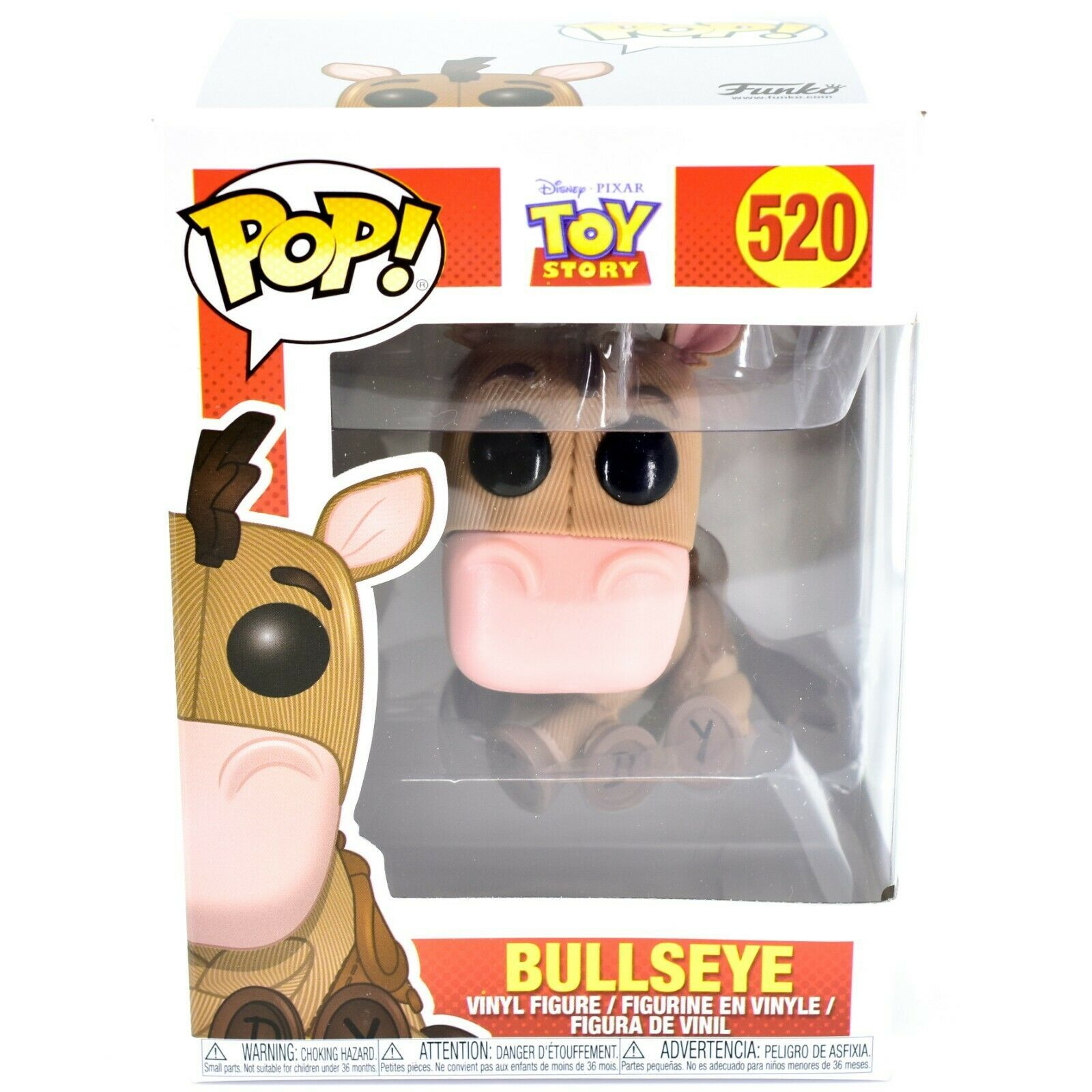 Funko Pop! Disney Pixar Toy Story Bullseye Horse #520 Action Figure