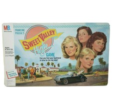 Vintage 1988 Sweet Valley High Francine Board Game 100% Complete Milton Bradley - $73.87