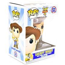 Funko Pop! Disney Pixar Toy Story 4 Sheriff Woody #522 Vinyl Action Figure image 5