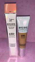 Bye Bye Foundation IT Cosmetics Full Coverage Moisturizer makeup RICH  5/2021 - $24.74