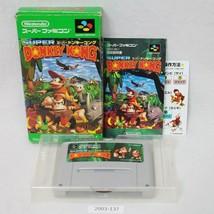 Nintendo Snes Súper Donkey Kong 1 en Caja Laboral Sfc Juegos 2003-137 - $27.01