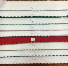 "Zweigart Stitch Band 7107 Fabric Banding Needlework 16 Count Cross Stitch 2"" - $5.90"