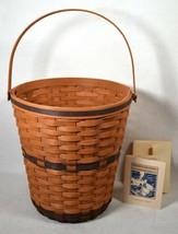 Longaberger 1989 JW Collection Bankers Waste Basket New - $148.50