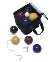 Pro 109mm Bocce Set 8 Poly-Resin Balls 1-60mm Pallino Target Ball Heavy ... - $132.95