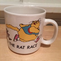 Welcome to the Rat Race - Professional Office Coffee Mug - Russ Berrie England - $9.50