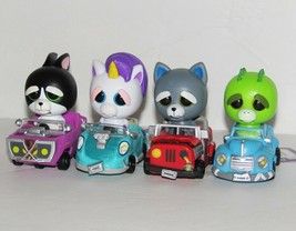 Feisty Pets Cars Set of 4 Lot - $19.78