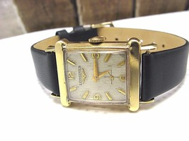 Longines Vintage Nice Swiss Watch In Box Runs New Watch Band - $361.85