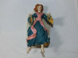 Hallmark Recuerdo Ornamento 1996 Glad Tidings Ángel Joyce Lyle Azul Rosa... - $10.68
