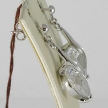Ohrringe aus Silber 925 Rhodiniert mit Hörmuschel Hard Zirkonia Kubische Herz image 2