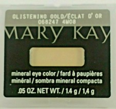 Mary Kay Glistening Gold Mineral Eye Shadow Single Retired - $6.79