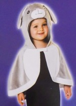 NEW Hooded Rabbit Bunny Cloak Costume Infant Baby Toddler One Size - FREE SHIP - $18.99