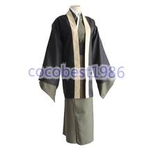 Bungo Stray Dogs Yukichi Fukuzawa Kimono Uniform Outfits Halloween Cosplay Cost - $44.93