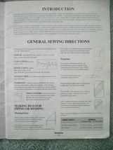 Vtg 1993 Simplicity DECOR Bedding Basics Instructional Pillows Comforters Duvets image 3