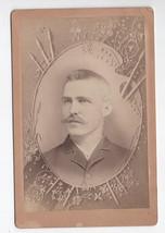 Edward U Walsh  J O Foster Antique Cabinet Card Photograph - $30.00