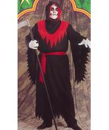 PLUS SIZE GHOUL HOODED ROBE COSTUME - $38.75