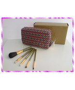NIB RARE MAC 5 Basic Brushes Set,129/219/239/266/316 Olive Green - $64.99