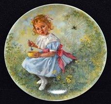 John Mc Clelland Mother Goose Series Little Miss Muffet Bradford Exchange Plate - $19.79