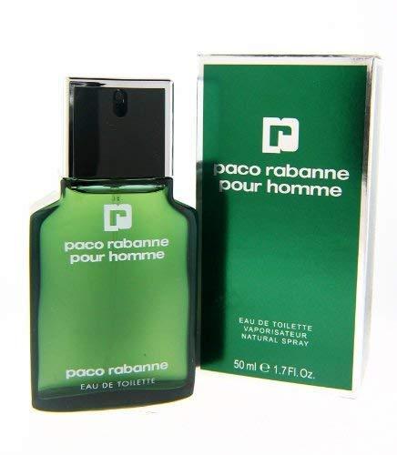 Paco Rabanne Pour Homme Eau de Toilette Spray, 1.7 Ounce