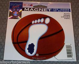 Ncaa Nib 4 Inch Auto MAGNET-UNC North Carolina Tar Heel On Basketball - $9.75