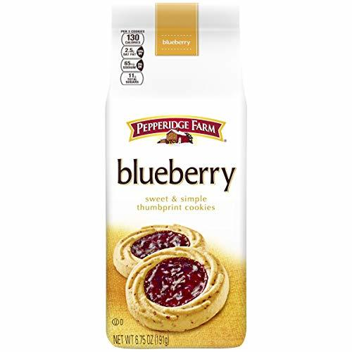 Pepperidge Farm Verona Blueberry Thumbprint Cookies, 6.75 Ounce