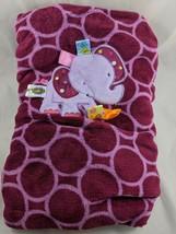 "Taggies Purple Elephant Baby Blanket 30"" x 40"" - $24.95"