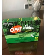 OFF! Deep Woods Insect Repellent Towelettes 1 PACK 12 Wipes NEW - $8.86