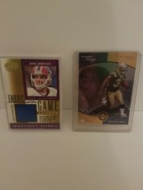 Rob Johnson Bills Fabric Of The Game Card And Ricky Williams Upper Deck  - $19.79