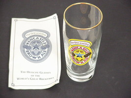 New Castle Beer Glass World's Great Breweries from Columbia House w/ cer... - $24.99