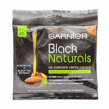 Garnier Black Naturals Oil Enriched Cream Colour  No Ammonia - $4.68+