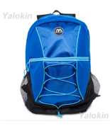 NEW Black and Blue Ripcord Lightweight Fashion Backpack Shoulder Book Bag - $23.99