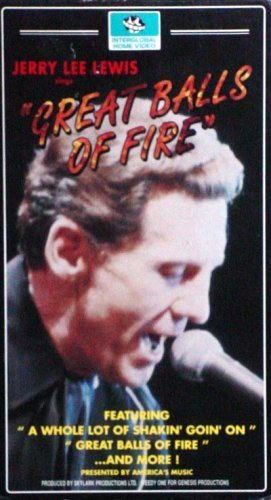 "Primary image for Jerry Lee Lewis Sings ""Great Balls of Fire"" [VHS Tape]"